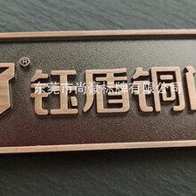 東莞銅門標牌,防盜門標牌,標牌加工,標牌生產圖片