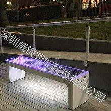 太阳能智能休闲椅、光伏智能椅图片