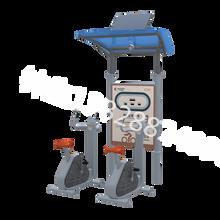 社区智能健身路径,太阳能健身器材厂家,二代智能健身器材工厂图片
