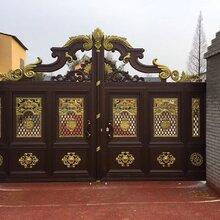 歌思奇鋁藝別墅門庭院門,別墅門,鋁藝大門,別墅大門圖片