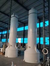 防腐蝕PP酸霧凈化塔廢氣處理設備PP噴淋塔圖片