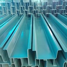 河南PVC萃取箱定做U型PVC水槽圖片