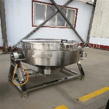 衡石夹层锅工作原理-豆沙夹层锅-化糖夹层锅供应商图片