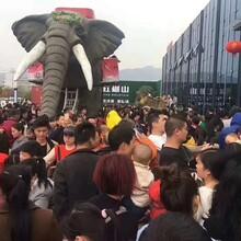 机械巡游大象活动展览机械大象租赁出售图片