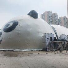 20m熊猫岛气模乐园出租熊猫岛设备现货租赁