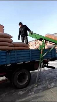 傳送帶小型輸送機折疊升降式輕型輸送帶裝車收糧機卸貨爬坡農家用