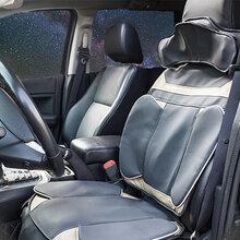 秒道車載按摩器多功能全身家用靠墊椅墊頸部腰部肩部汽車按摩坐墊圖片