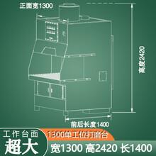 環保打磨臺潔塵科技環保拋光打磨除塵臺可定制圖片
