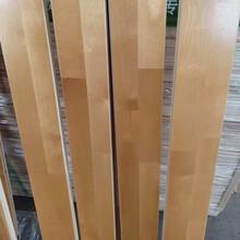 楓樺木22mm厚木地板籃球館瑜伽館懸浮運動木地板圖片