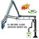 廠家熱銷-高速橋梁焊接設備-電動式360°旋轉升降焊接懸臂架