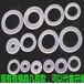 生产电子绝缘垫片螺丝防震介子塑胶垫片PE平垫