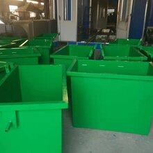 环卫660L镀锌垃圾桶铁质垃圾桶厂家供应图片