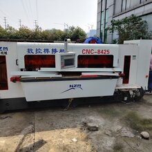 轉讓二手臺灣華澤數控榫接機CNC-8425圖片