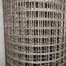 林瑞不锈钢轧花网片厂家机械设备网片黑钢丝轧花养殖轧花网可定制