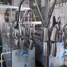 供應吊鏈式壁掛式高壓噴淋清洗烘干線林泰清洗機廠家直銷圖片
