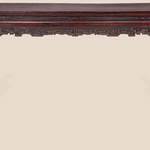 红木条桌现金收购正规的公司