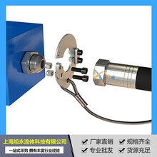 厂家销售液压管路安全防爆链不锈钢高压油管防爆安全阀钢丝绳图片