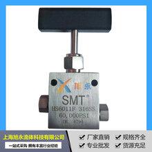 现货销售超高压针型阀1/43/8高压不锈钢手动针阀图片