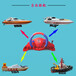 商用方向盤遙控船玩具