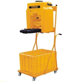 特价匠合移动推车洗眼器无水源无需固定安装是用方便JH-Y053