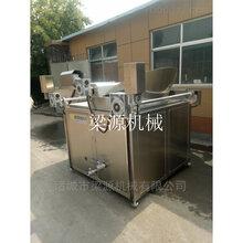 LY-1200型全自动进出料油炸单机鸡块油炸锅梁源生产厂家