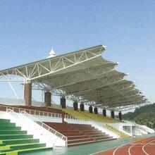 清远主席台膜结构施工操场体育看台学校运动场球场膜结构工程