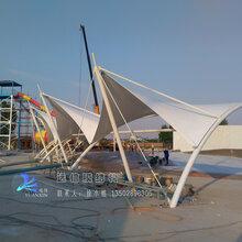 景区休闲遮阳棚张拉膜钢膜结构工程设计施工膜结构景观工程制作
