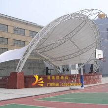 热销深圳村委活动中心舞台膜结构设计施工社区文化广场舞台张拉膜图片