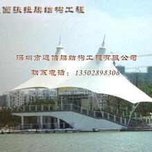 广州中庭屋面膜结构工程厂家免费勘测现场制定中庭膜结构
