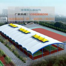 贵阳风雨球场膜结构遮阳棚、网球场雨棚膜结构、体育场看台膜结构图片