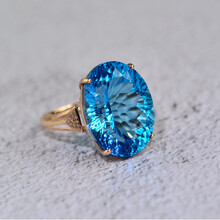 2019年托帕石戒指拍卖市场价格图片