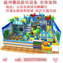 熱賣淘氣堡各種樂園設備各種組合滑梯小型蹦蹦床組合塑料彩虹梯造型