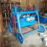 小型手动制砖机多功能空心切块机移动式水泥免烧砖机