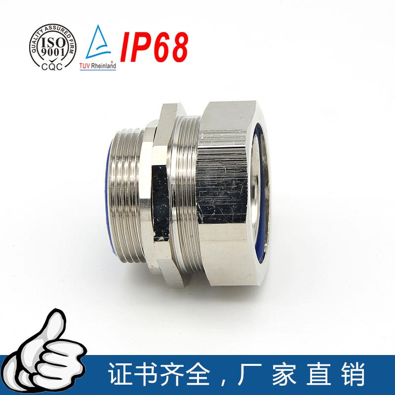 金属电缆防水接头铜软管接头锌合金管接头M型葛兰格兰头
