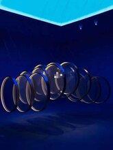 圓形機械矩陣互動裝置山東藍洞