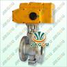 厂家直销QRHV电动V型调节阀电动v型球阀电动耐磨调节阀