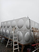云浮云安不锈钢水箱厂家直销组合不锈钢双层保温水箱定制做众杰新不锈钢消防水箱304