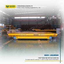 BXC鋼軌板車電動運輸車蓄電池軌道車軌道車電動地軌平臺車圖片