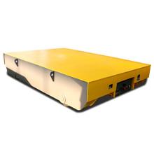 工业地面转盘运输设备大型设备搬运导轨自动导引牵引电动转运车图片