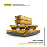 搬運液壓產品蓄電池運輸車新型材料搬運大噸位無軌膠輪電動平板車
