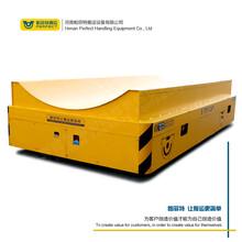 10噸30噸多方位設備轉運無軌膠輪車石油提煉機械搬運小型電動平車圖片