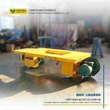 軌道運輸車KPJ卷筒供電式鐵路平板車車間用電動運輸車有軌平臺車圖片