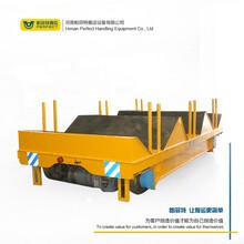 20噸蓄電池無軌平板車車間搬運模具鋼結構件帕菲特過跨車圖片