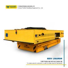 定制生產搬運大型搬運電動軌道平車軌道滑塊取電轉運平車地軌車圖片