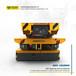 平移車大噸位車軌道牽引車有軌蓄電池平板車定制牽引承載型平板車