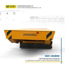 20吨模具运输车烤漆喷砂房设备工件搬运平台车图片
