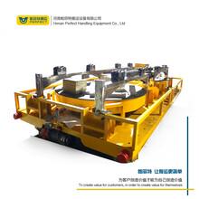 定制牵引平板车分体式电动铁路轨道平板车转运自动化轨道车图片