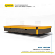 帕菲特BJT拖电缆铁路轨道平板车轨道运输车模具转运钢包电动平车图片