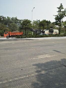深圳沥青摊铺机/东莞沥青混凝土施工/沥青路面修补划线