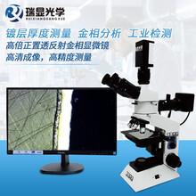 瑞顯光學正置金相顯微鏡工業檢測分析儀高倍顯微鏡實驗室光學儀器圖片